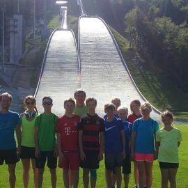 Trainingslager Villach und Planica