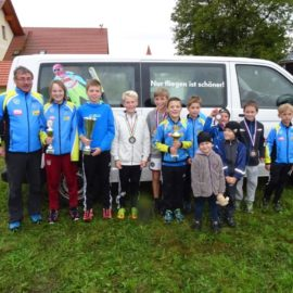 Youngsters springen aufs Stockerl