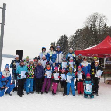 Erfolgreiche Premiere beim Rastbüchler-Langlaufcup
