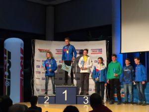 Siegerehrung Spezialspringen: 3. Platz für Alexander Angerer