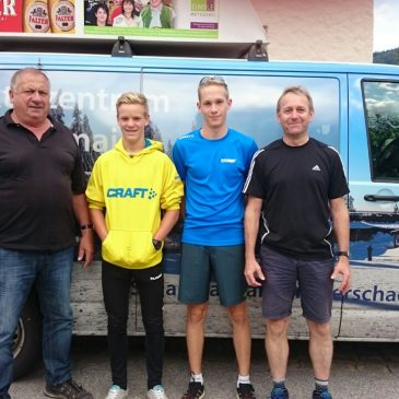 Rastbüchler Langläufer beim 1. Deutschlandpokal